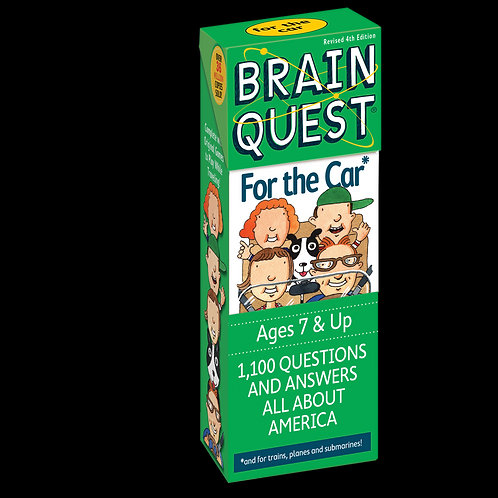 Workman Publishing - Brain Quest For the Car