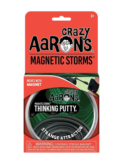 "Crazy Aaron's Thinking Putty - 4"" Strange Attractor - Magnetic"
