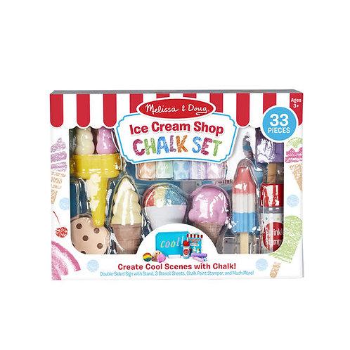 Melissa & Doug - Ice Cream Shop - Chalk Set