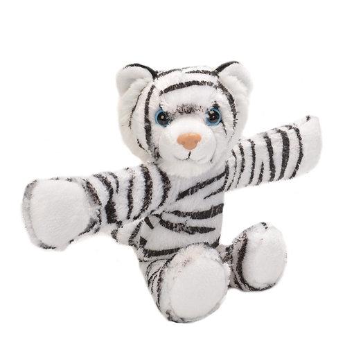 Wild Republic - White Tiger Huggers Slap Bracelet