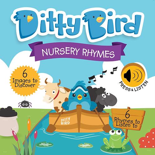Ditty Bird - Nursery Rhymes - Board Book