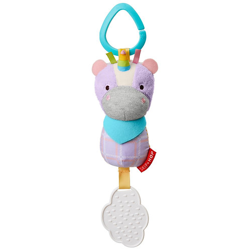 Skip Hop - Bandana Buddies Chime & Teethe Toy - Unicorn