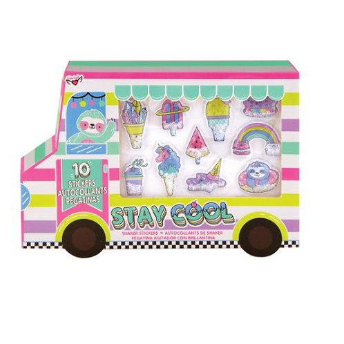 Fashion Angels - Ice Cream Truck Confetti Sticker