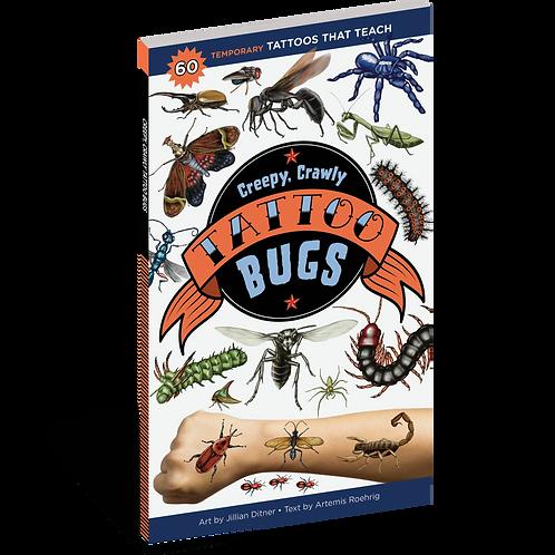 Workman Publishing - Creepy, Crawly Tattoo Bugs