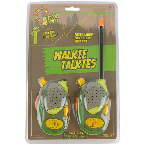 Toysmith - Outdoor Discovery Walkie Talkies