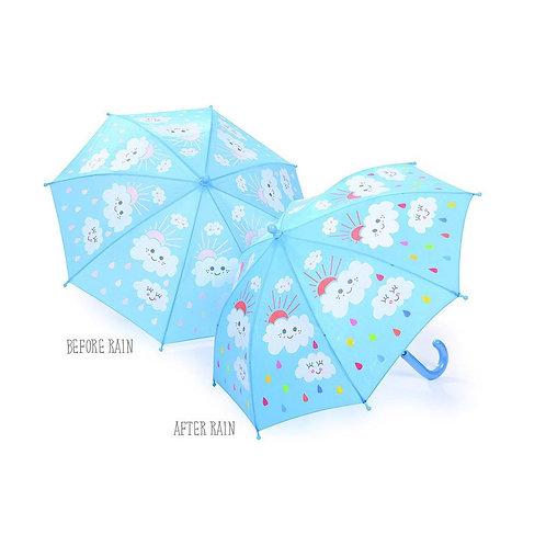 Floss & Rock - Raindrops and Clouds Umbrella