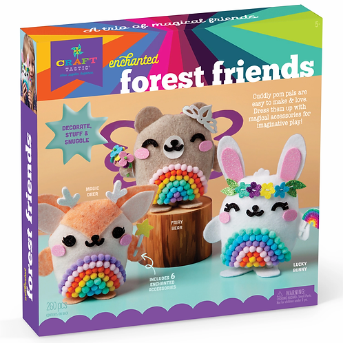 Ann Williams - Craft-tastic Enchanted Forest Friends