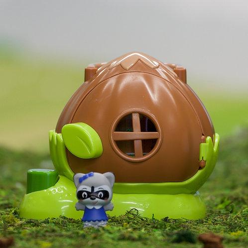 Fat Brain Toys - Timber Tots - Hazelnut House