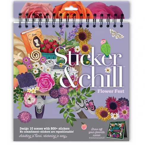 Ann Williams - Sticker and Chill - Flower Fest