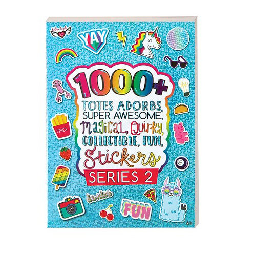Fashion Angels - 1000+ Totally Adorbs, Super Awesome Sticker Book - Series 2