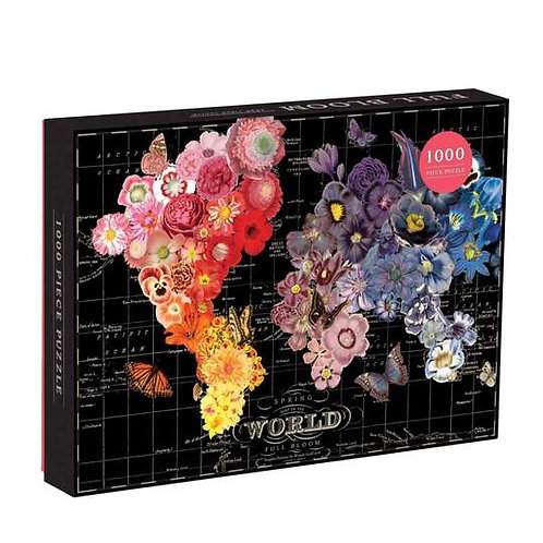 Galison - Wendy Gold Full Bloom - 1000 Piece Puzzle