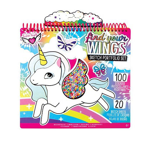 Fashion Angels - Find Your Wings Sketch Portfolio Set