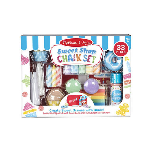 Melissa & Doug - Sweet Shop - Chalk Set
