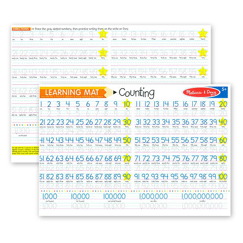 Melissa & Doug - Learning Mat Counting to 100