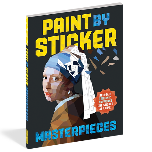 Workman Publishing - Paint by Sticker - Masterpieces