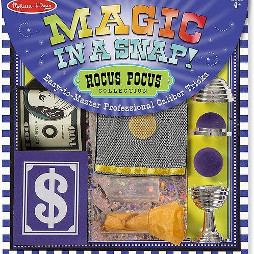 Melissa & Doug - Magic Set in a Snap! Hocus Pocus Collection