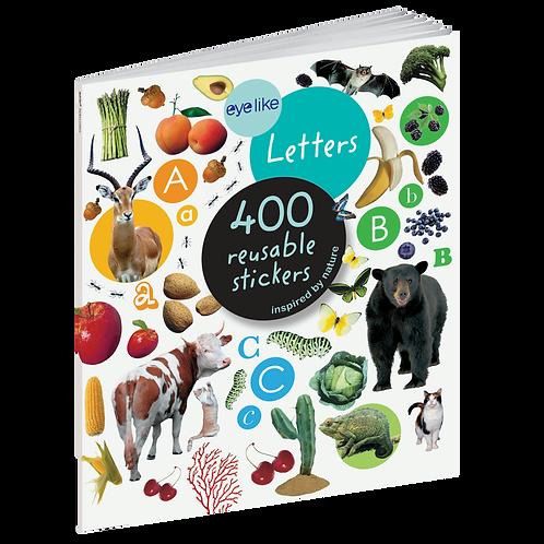 Workman Publishing - Eyelike Letters - Reusable Stickers