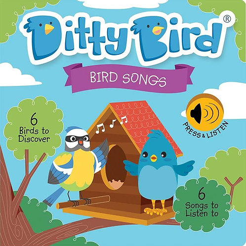 Ditty Bird - Bird Song - Board Book