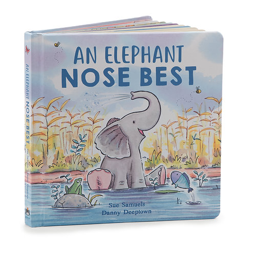 Jellycat - An Elephant Knows Best Book