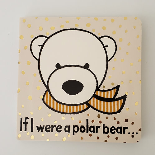 Jellycat - If I Were a Polar Bear - Board Book