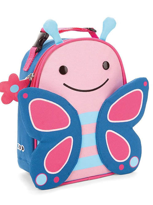 Skip Hop - Zoo Lunchie Insulated Kids Lunch Bag - Butterfly
