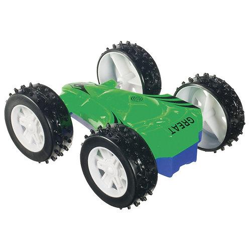 Toysmith - Double Sided Flip Car - COLOR WILL VARY