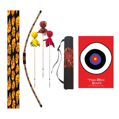Two Bros Bows - Deluxe Archery Set - Flame