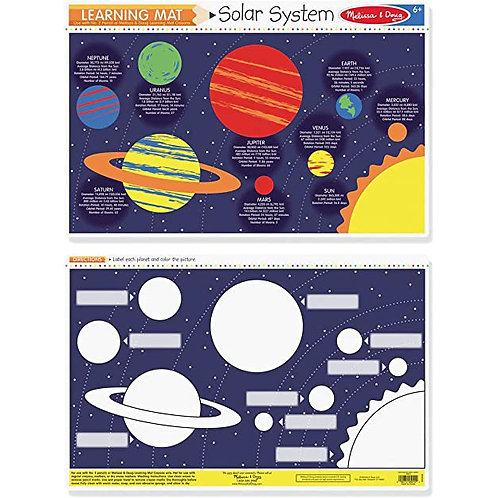 Melissa & Doug - Learning Mat Solar System Planets