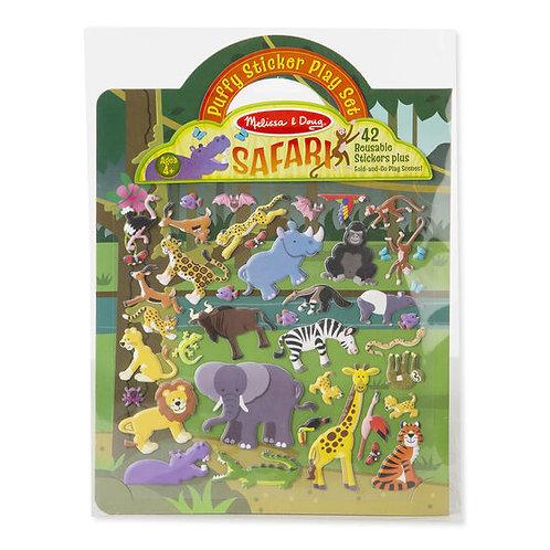 Melissa & Doug - Safari - Puffy Sticker Play Set