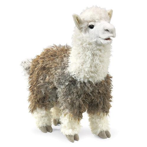 Folkmanis Hand Puppet - Alpaca
