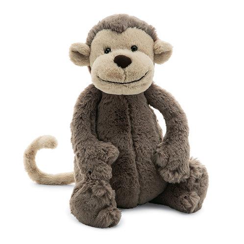 """Jellycat - Bashful Monkey - Small 7"""""""