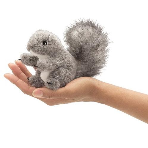 Folkmanis Finger Puppet -Mini Gray Squirrel