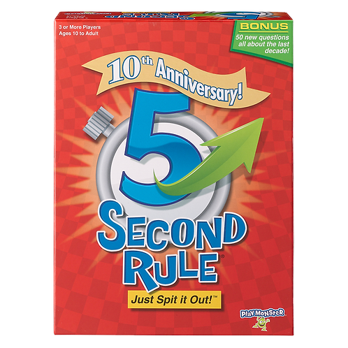Play Monster - 5 Second Rule - 10th Anniversary