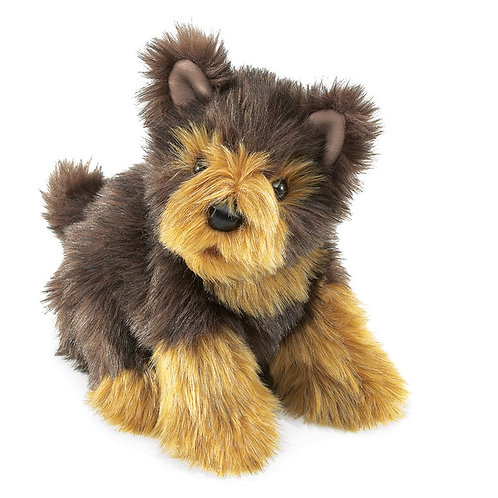 Folkmanis Hand Puppet - Yorkie Pup
