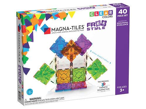Magna-Tiles - Freestyle - 40 Piece Set