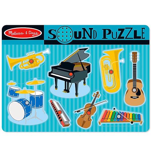Melissa & Doug - Musical Instruments Sound Puzzle