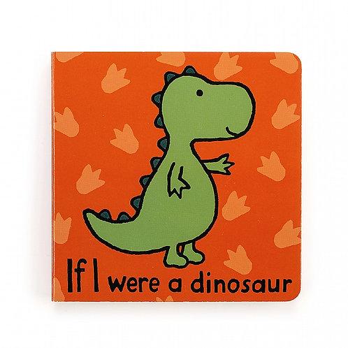 Jellycat - If I Were a Dinosaur - Board Book