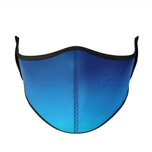 Top Trenz - Blue Ombre Mask - Small/Kids