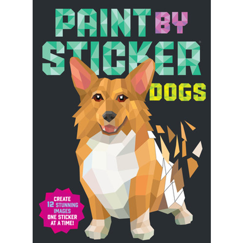 Workman Publishing - Paint by Sticker - Dogs