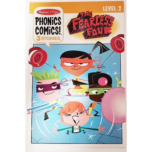 Melissa & Doug - The Fearless Four - Phonics Comics