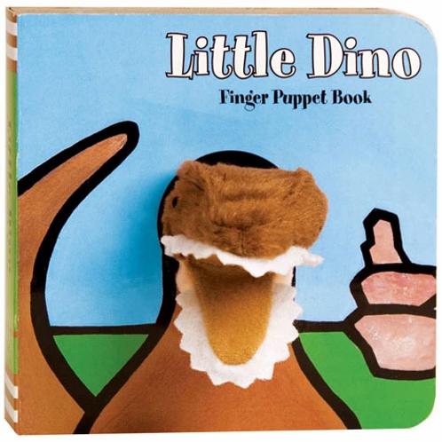 Chronicle Books - Finger Puppet Board Book - Little Dino
