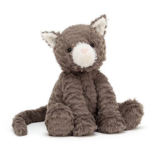 "Jellycat - Fuddlewuddle Cat - Medium 9"""