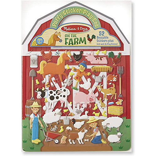 Melissa & Doug - On the Farm - Puffy Sticker Play Set