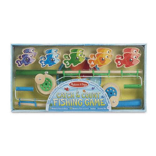 Melissa & Doug - Catch & Count Magnetic Fishing Game
