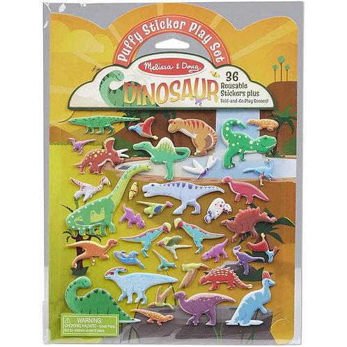 Melissa & Doug - Dinosaur - Puffy Sticker Play Set