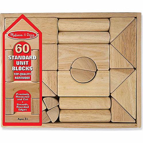 Melissa & Doug - Standard Unit Blocks