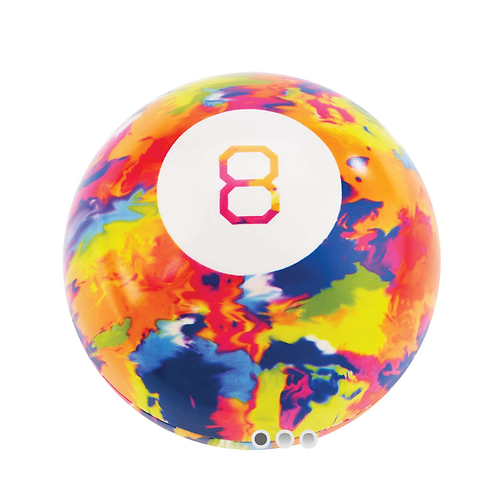 Super Impulse - World's Smallest - Tie Dye Magic 8 Ball