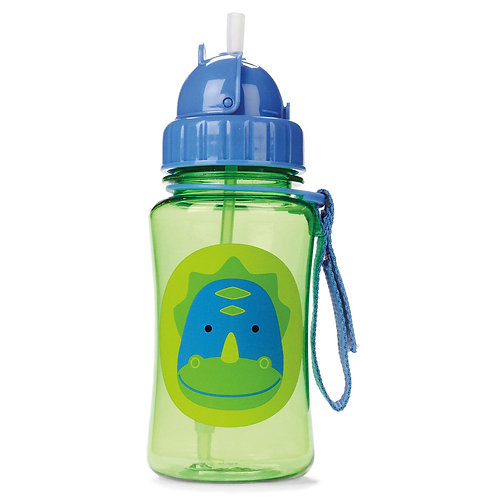Skip Hop - Zoo Straw Bottle - Dinosaur
