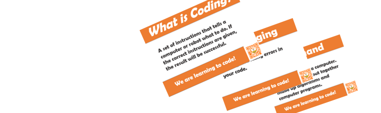 Coding Glossary Display Cards