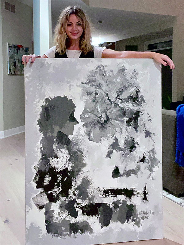 Karen Buscemi and Painting Breathe Me In small.jpg